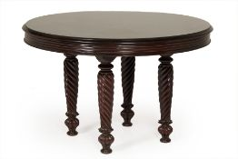AN ANGLO INDIAN CENTRE TABLE