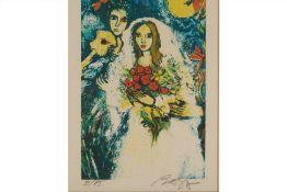 ALAIN RAYA-SORKINE (FRENCH B.1936) - BRIDE