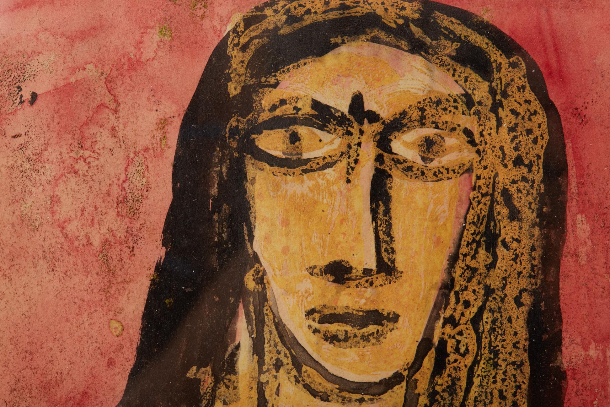 FRANCIS NEWTON SOUZA (INDIAN, 1924-2002) - FEMALE NUDE - Image 3 of 4