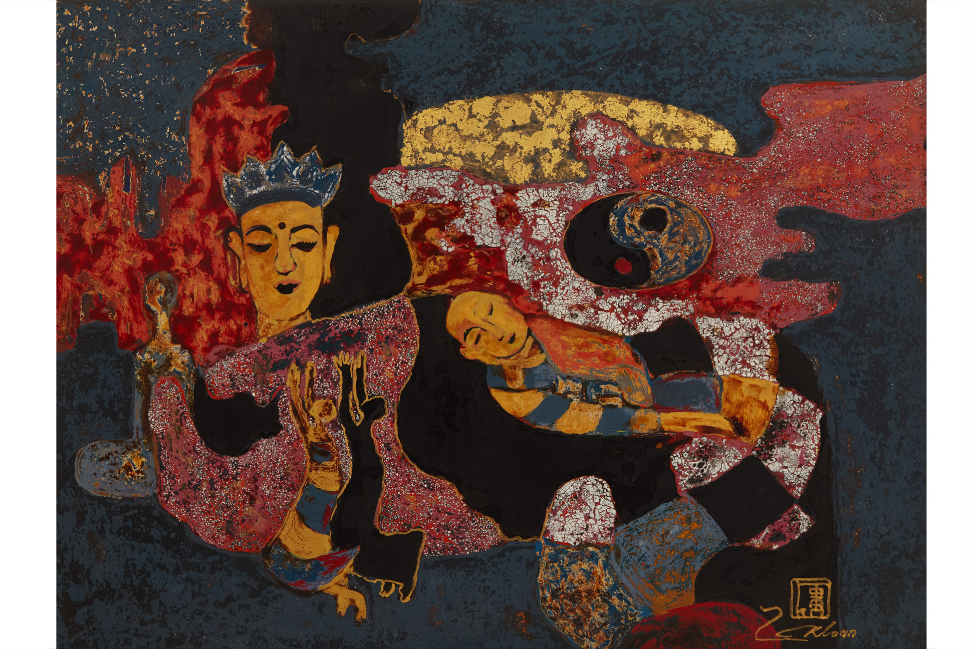 LUONG KHANH TOAN (VIETNAMESE, B.1966) - UNTITLED