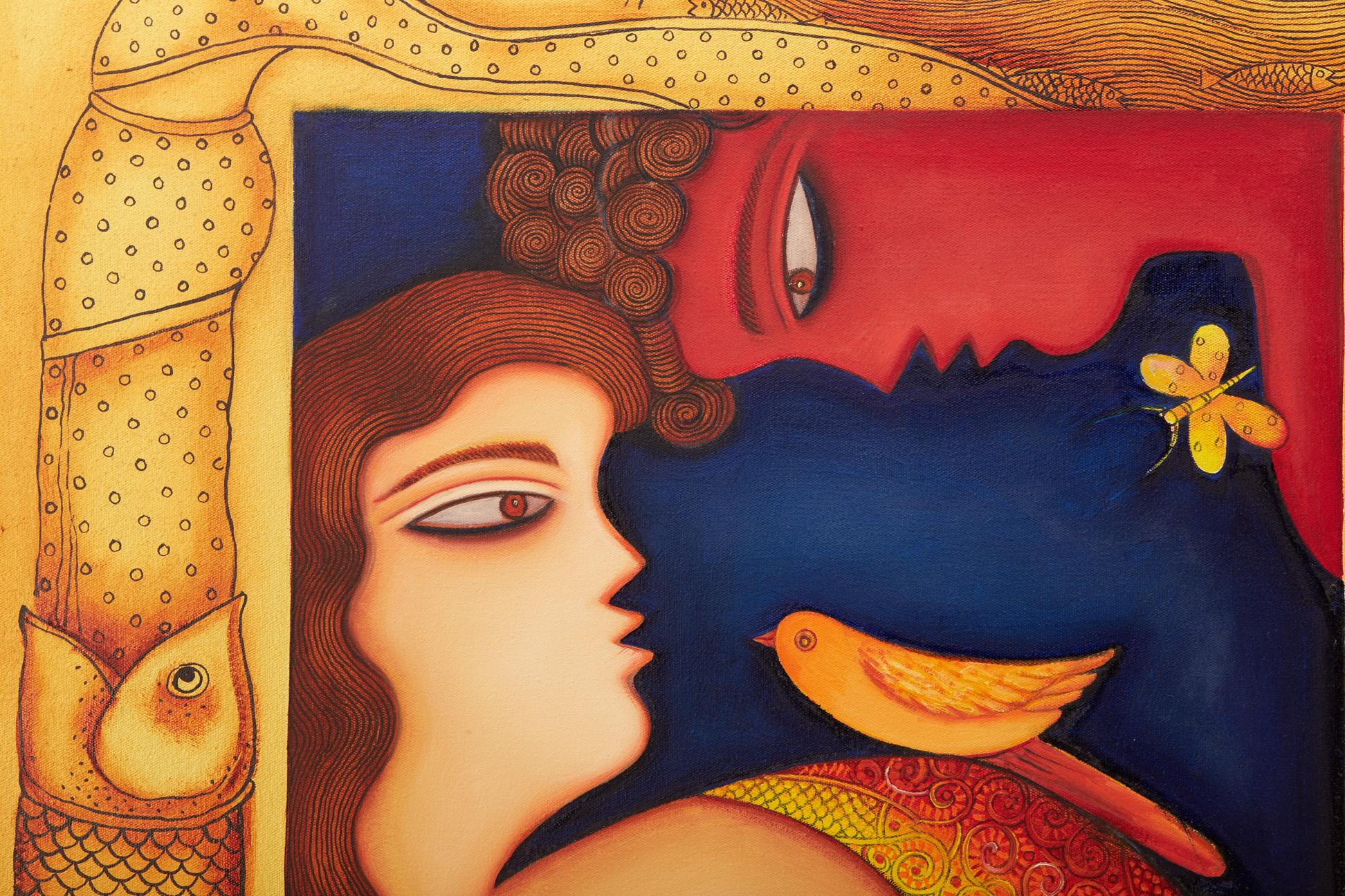 SHIPRA BHATTACHARYA (INDIAN, B.1954) - DESIRE - Image 3 of 5
