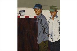 LIM KIM KATY (VIETNAMESE B.1978) - FIGURE STUDY, TWO MEN