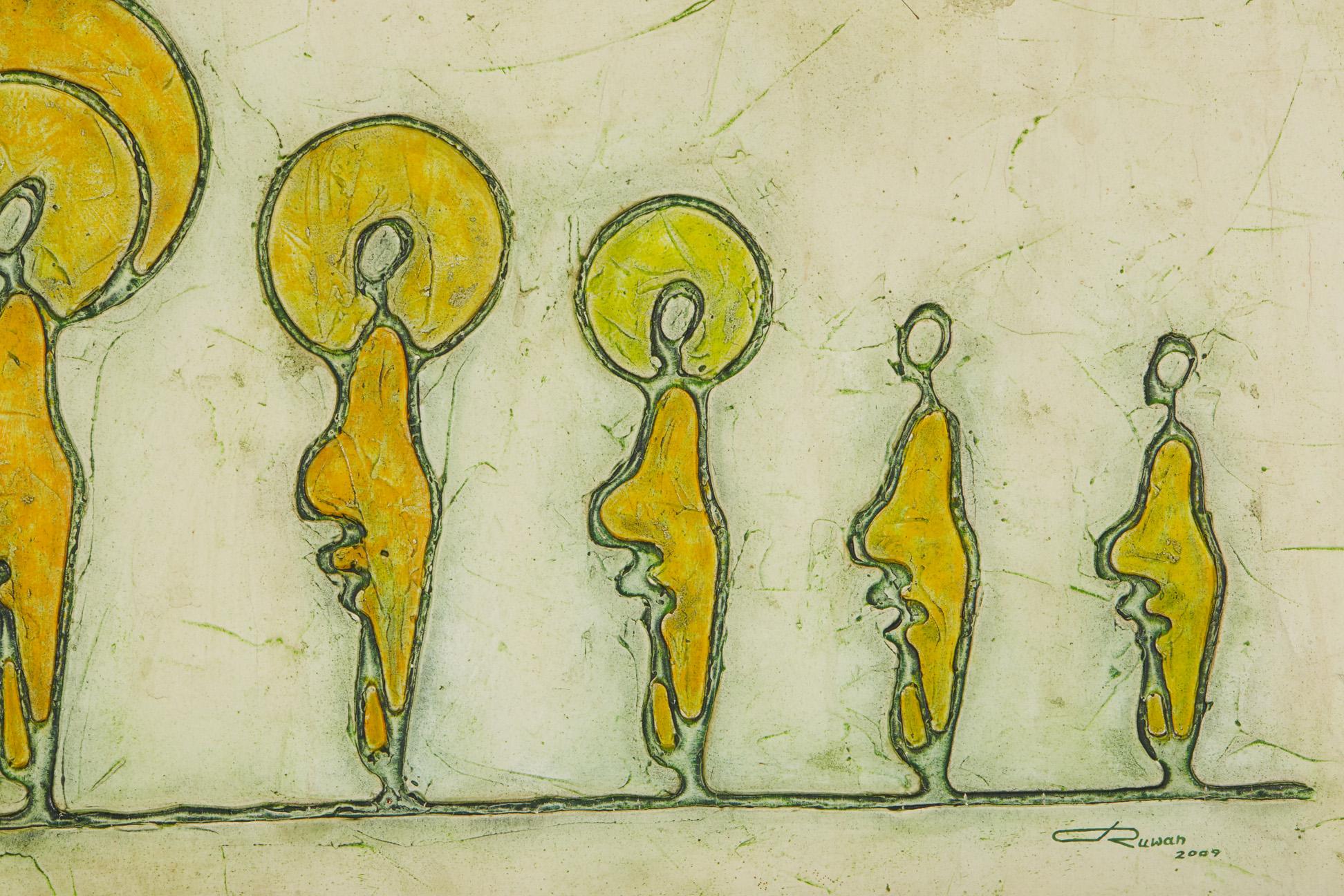 RUWAN PRASANGA (SRI LANKAN, XXI) - BODHI TREE - Image 3 of 5