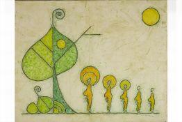 RUWAN PRASANGA (SRI LANKAN, XXI) - BODHI TREE