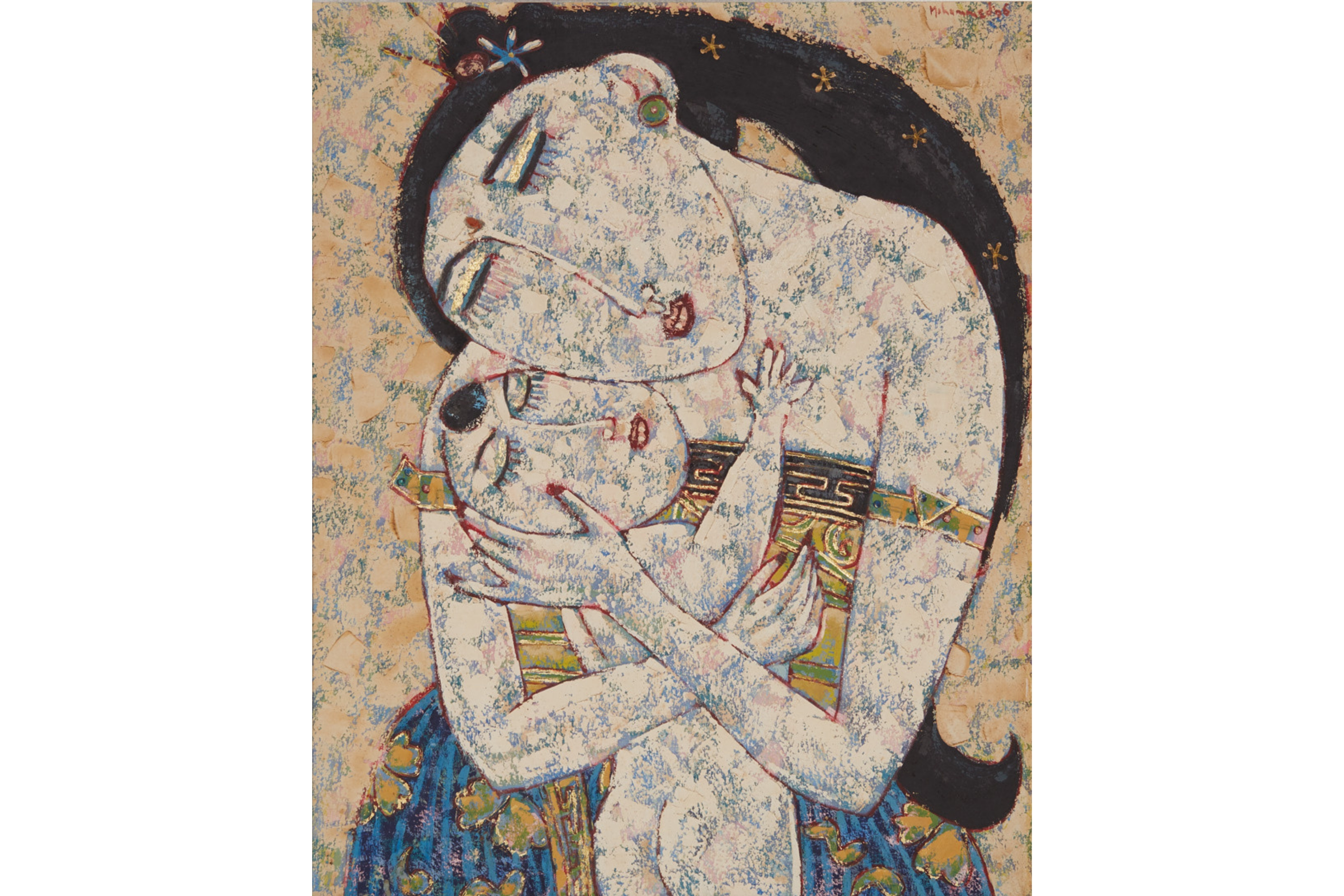 MOHAMMED HARAHAP (INDONESIAN, B. 1951) - MOTHER AND CHILD