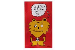 EESHAUN (SINGAPOREAN, XX XXI) - SINGA THE COURTESY LION