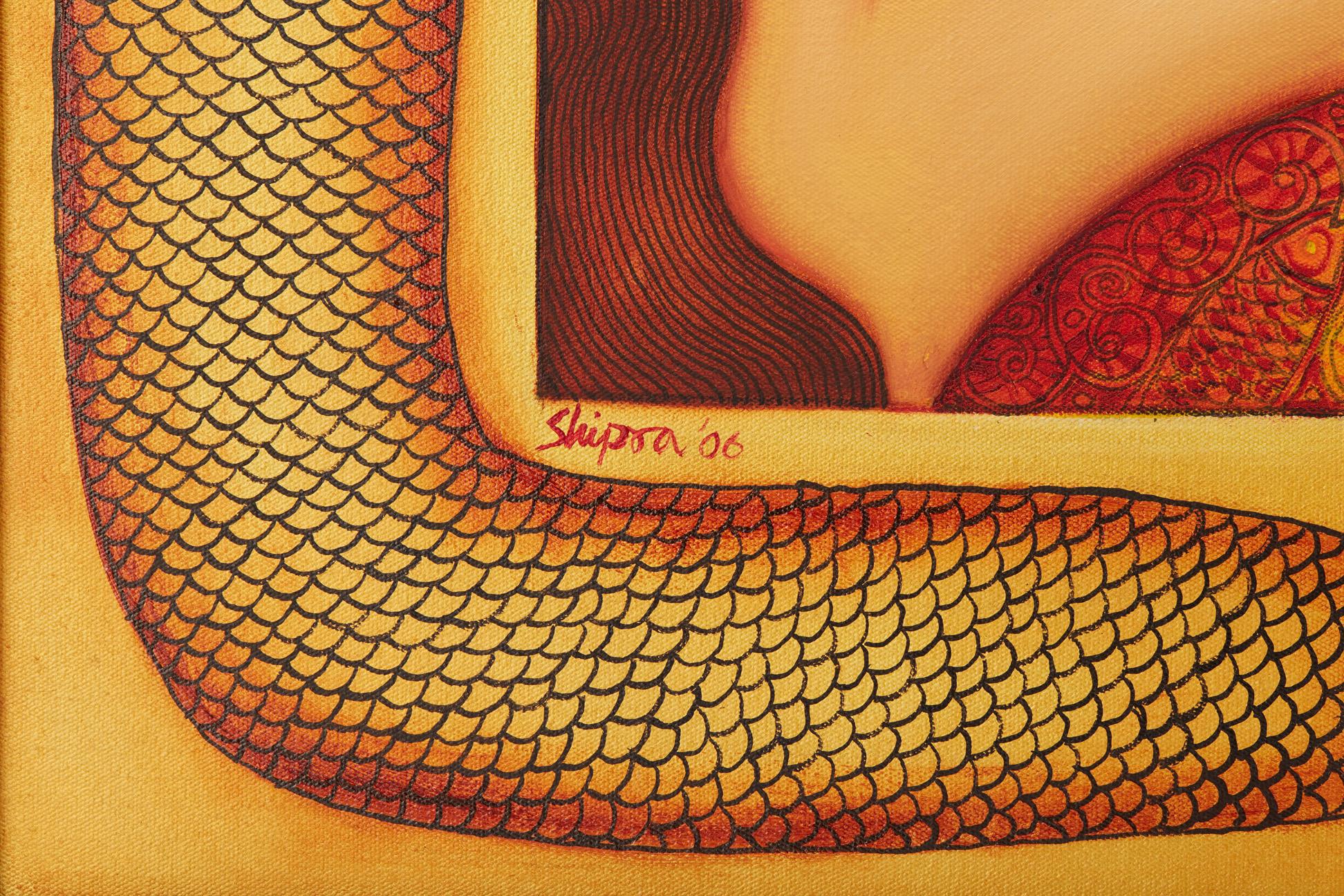 SHIPRA BHATTACHARYA (INDIAN, B.1954) - DESIRE - Image 4 of 5