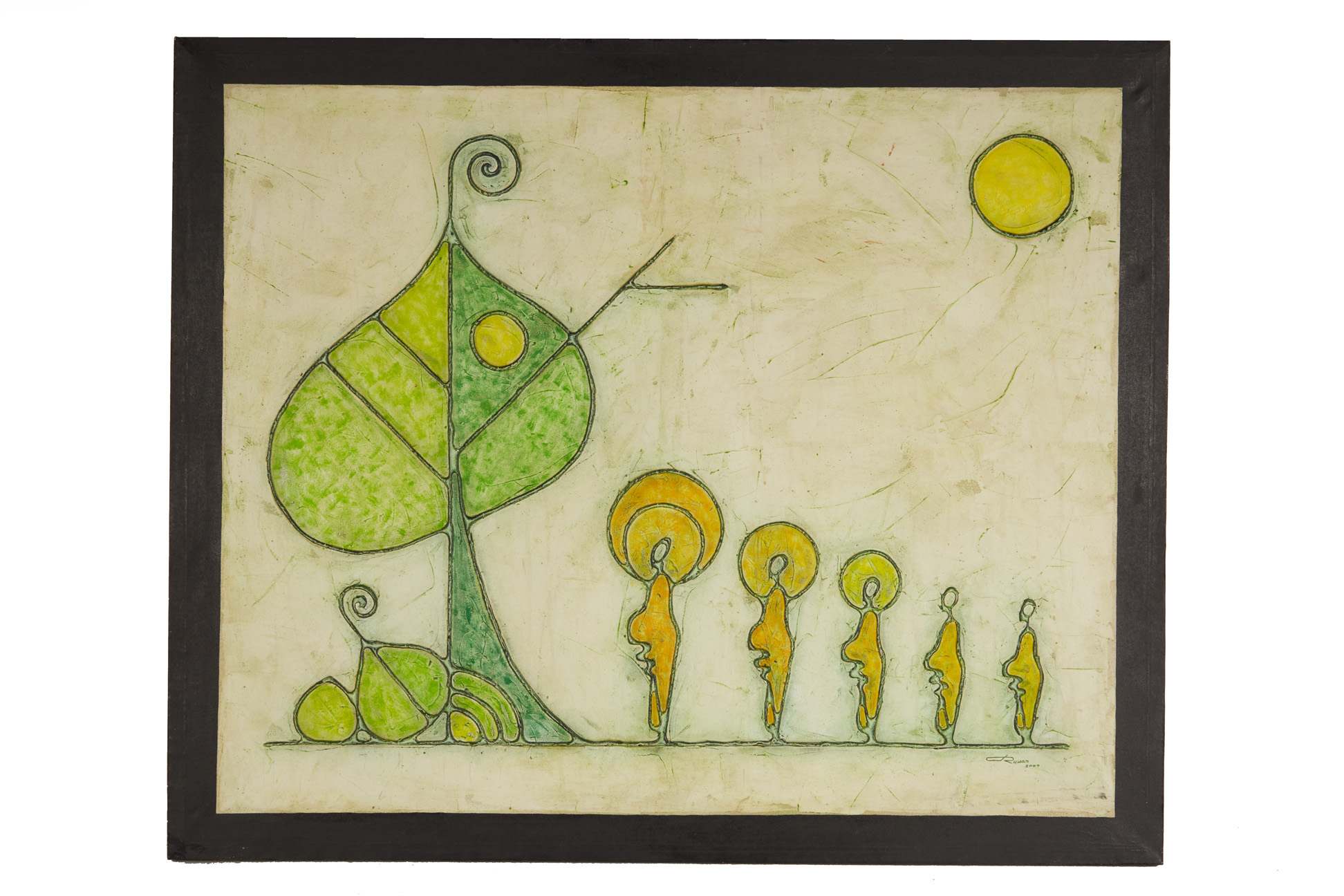 RUWAN PRASANGA (SRI LANKAN, XXI) - BODHI TREE - Image 2 of 5