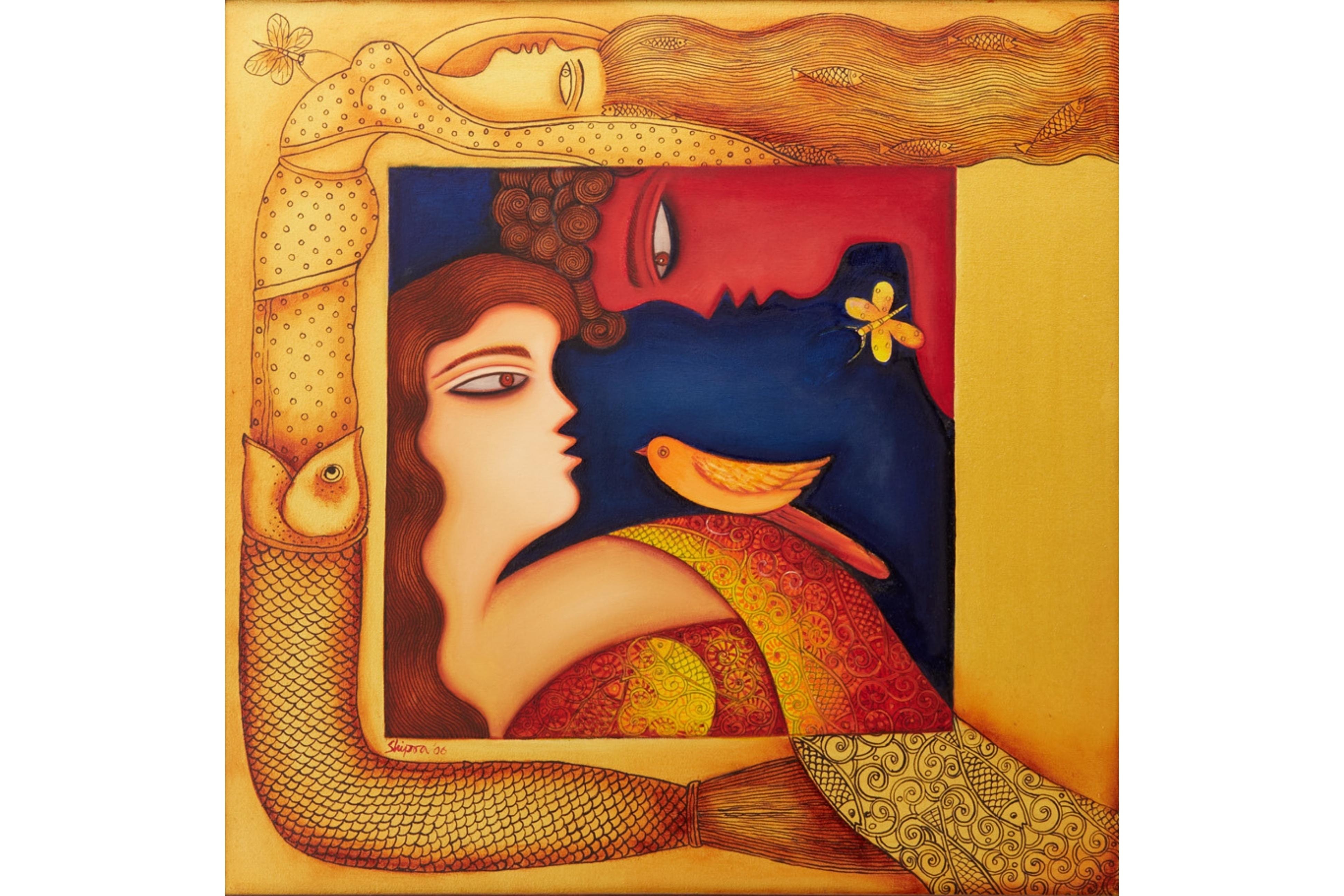 SHIPRA BHATTACHARYA (INDIAN, B.1954) - DESIRE