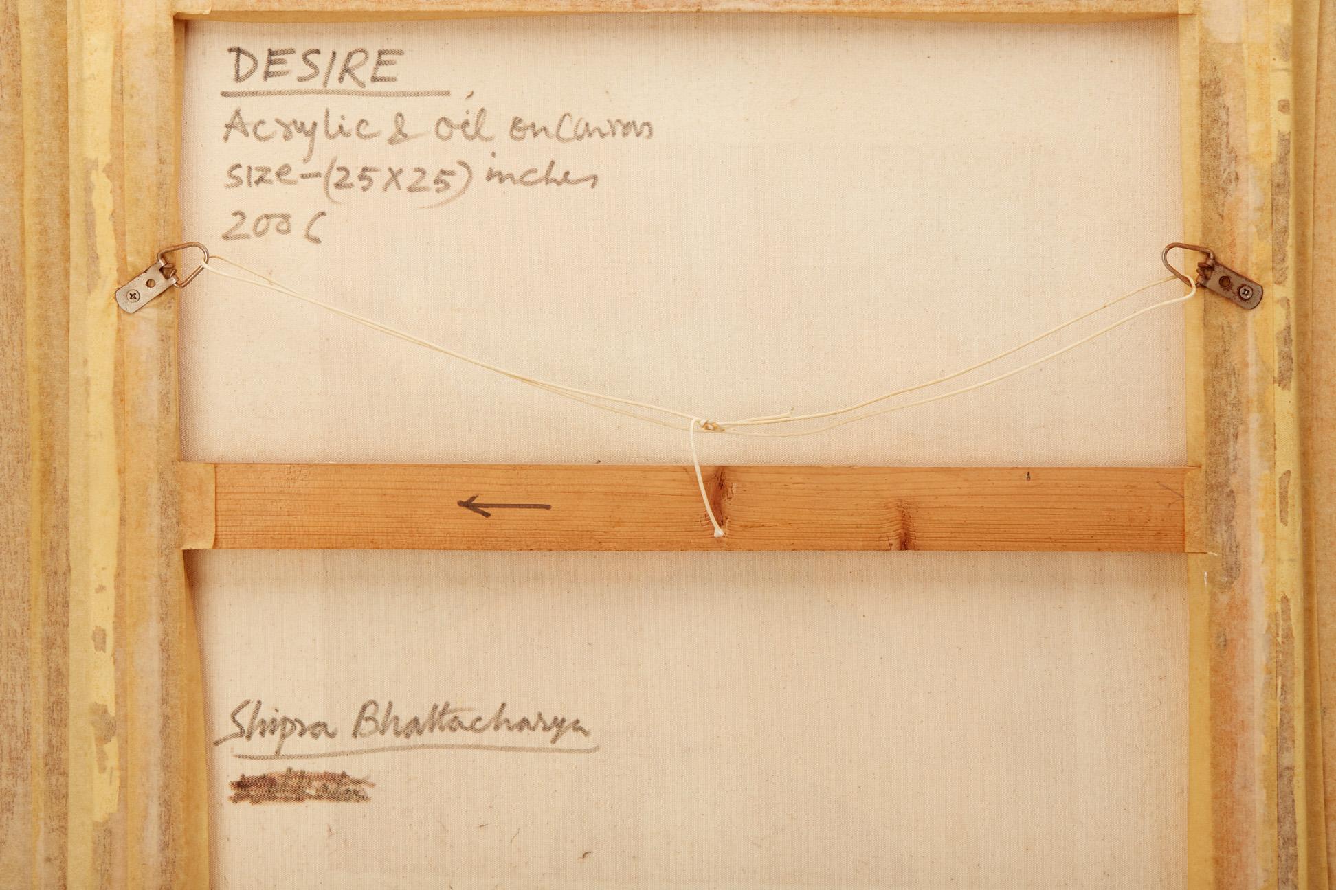 SHIPRA BHATTACHARYA (INDIAN, B.1954) - DESIRE - Image 5 of 5