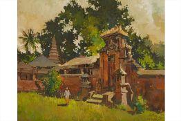 ONG KIM SENG (SINGAPOREAN, B.1945) - NORTH OF UBUD