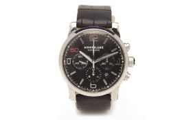 A MONTBLANC TIMEWALKER SINCERE JUBILEE EDITION CHRONOGRAPH