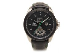A TAG HEUER GRAND CARRERA SINGAPORE LIMITED EDITION WATCH