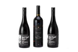 THREE BOTTLES OF AUSTRALIAN RED WINE