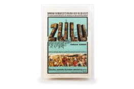 ZULU (1964) - US ONE SHEET ORIGINAL MOVIE POSTER