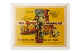 THE QUIET AMERICAN (1958) MOVIE POSTER