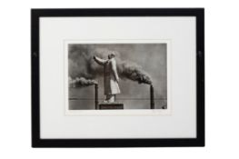 MARC RIBOUD (FRENCH, 1923-2016) - SMOKE AND MAO'S ARM