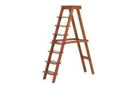 AN INDONESIAN LIBRARY LADDER