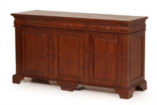 A LARGE SIDEBOARD