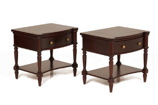 A PAIR OF NIGHTSTANDS