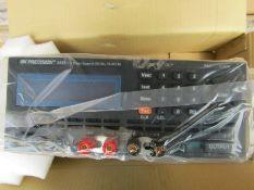 BK Precision Digital Bench Power Supply 144W 1 Output 0-36V 4A 8A - J4 8782101