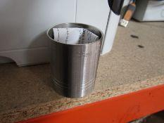 Box of around 80 x 35ml Metal Drink / Wine / Spirit Measures