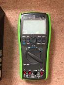 ISO-TECH IDM503 Handheld Digital Multimeter, 400mA ac 1000V ac 400mA DC 1000V dc - 7575104
