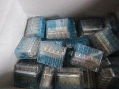 1100 x 5 Way HelaCon Plus Terminal Block Push In Block HECP-5 H9554 560256