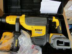 DEWALT SDS Max 54V Cordless Hammer Drill FLEXVOLT DCH773Y2 - 2 X 12AH J4 1891296