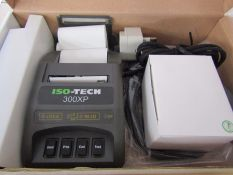 NEW ISOTECH 300XP Thermal Printer - Portable