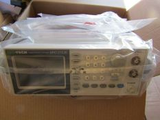 ISO-TECH AFG-21025 Arbitrary Waveform Generator 25MHz DDS Signal - fila 7816846