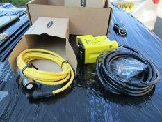 Turck Banner Ultrasonic Sensor Barrel 50-250cm U-Gage Q45U NPN PNP 05c2 8487146