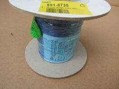 20 reels 100m x Purple XLPE UL1385 Hook Up Wire Equipment Cable 26AWG H9ML7 8918735