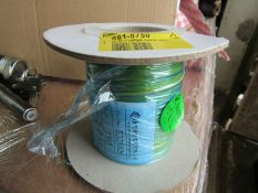 20 reels 100m x Yellow XLPE UL1385 Hook Up Wire Equipment Cable 24AWG H9ML6 8918750