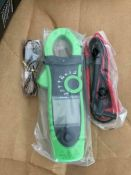 APPA 135 Power Clamp Meter IPM242 Absolute Max AC Current 600A - J6 7541233