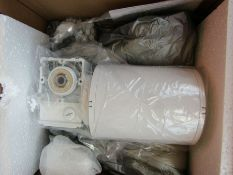 Mini Motor Worm AC Geared Motor 3 Phase 230Vac 400Vac 145RPM 130W BCL1 1817023