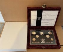 1996 Silver Proof Coin Collection.