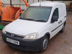 07/07 VAUXHALL COMBO 1700 CDTI - 1248cc 5dr Van (White, 204k)