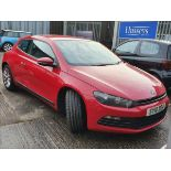 10/10 VOLKSWAGEN SCIROCCO TSI - 1390cc 2dr Coupe (Red, 107k)