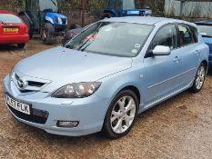 08/57 MAZDA 3 SPORT - 1999cc 5dr Hatchback (Blue, 92k)