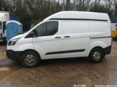 15/15 FORD TRANSIT CUSTOM 330 ECO-TE - 2198cc 5dr Van (White, 57k)
