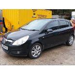 08/58 VAUXHALL CORSA DESIGN CDTI - 1248cc 5dr Hatchback (Black, 83k)