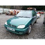 02/52 CITROEN SAXO 1.1I DESIRE - 1124cc 3dr Hatchback (Green, 124k)