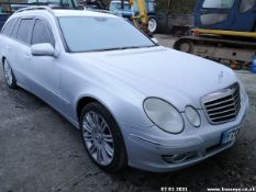 06/06 MERCEDES E320 CDI SPORT AUTO - 2987cc 5dr Estate (Silver, 176k)