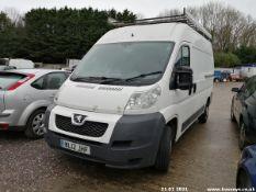12/12 PEUGEOT BOXER 335 L2H2 HDI - 2198cc 5dr Van (White, 81k)