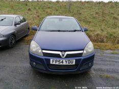 04/54 VAUXHALL ASTRA ELITE - 1598cc 5dr Hatchback (Blue, 96k)