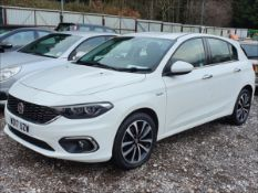 17/17 FIAT TIPO LOUNGE - 1368cc 5dr Hatchback (White, 53k)