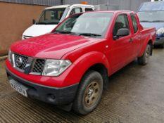 07/57 NISSAN NAVARA TREK S/C DCI - 2488cc Pickup (Red, 143k)