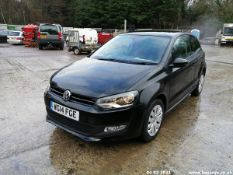 14/14 VOLKSWAGEN POLO MATCH EDITION - 1390cc 3dr Hatchback (Black, 22k)