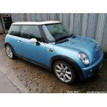 03/03 MINI MINI COOPER - 1598cc 3dr Hatchback (Blue, 89k)